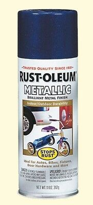 Rustoleum Metallic Disperse stretch Paint Cobalt Blue  Interior Exterior Weather Resistant