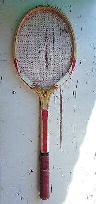 DIAMOND - Vintage wooden frame tennis racket  - 1970's