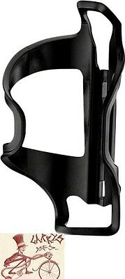 Side Water - LEZYNE FLOW SIDE LOADER RIGHT HAND BLACK WATER BOTTLE CAGE