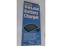 Solar battery charger, 12V
