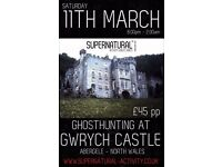 Gwrych Castle Ghost hunt and many other around he UK!