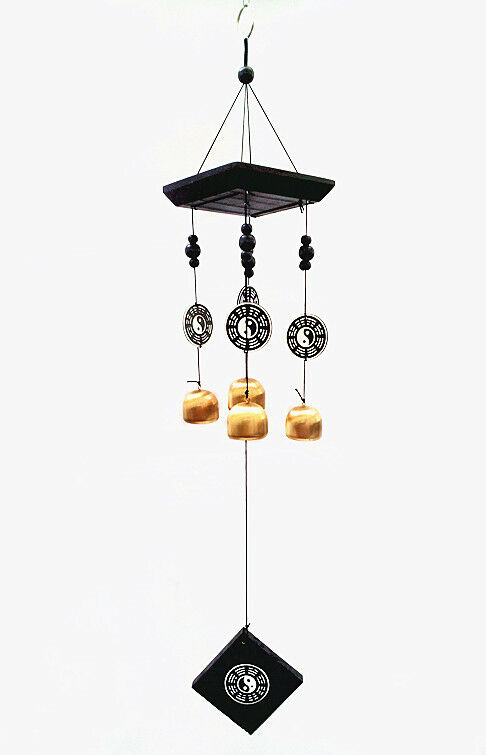Feng Shui Bagua Pa Kua Wind Chime Hanging for protection