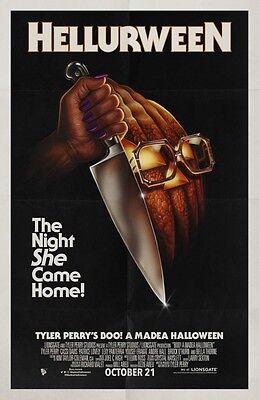 Boo A Madea Halloween - original DS movie poster - 27x40 D/S Advance](Halloween Movie Poster 27x40)