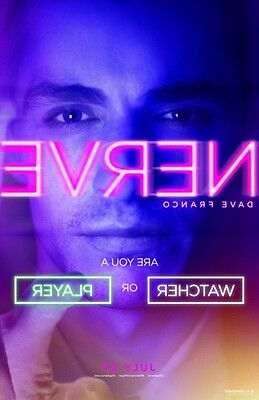 Nerve Original Movie Promo Poster 13 5X20   Emma Roberts   Dave Franco