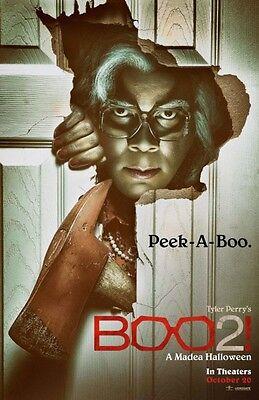Boo 2 A Madea Halloween - original DS movie poster - 27x40 D/S Advance