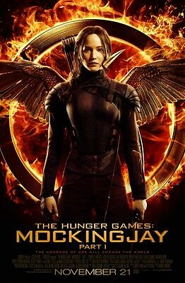 Hunger Games 3 Mockingjay original movie poster -  27x40 - FINAL  KATNISS