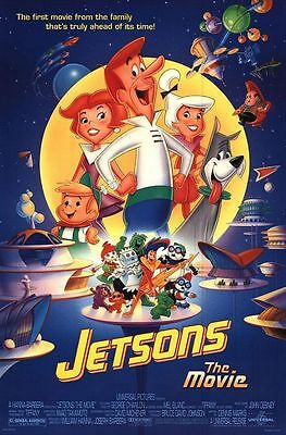 Jetsons, The D/s Original Full Size Movie Poster