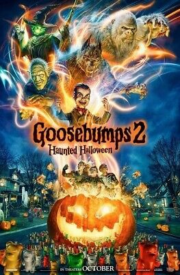Goosebumps 2 Haunted Halloween vg 27x40 Original D/S Movie POSTER](Halloween Movie Poster 27x40)