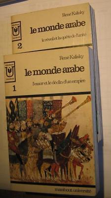 Le monde arabe de René Kalisk.2 tomes