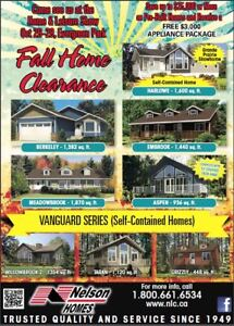 HUGE FALL SAVINGS ON SPEC HOME INVENTORY