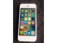 White iPhone 5 on Virgin EE T-mobile Orange Asda Vectone good condition Can Deliver