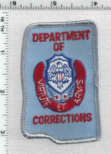 Department of Corrections (Mississippi) 3rd Issue Cap/Hat Patch