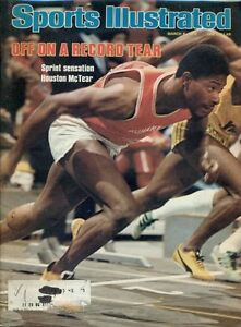 Houston McTear Sports Illustrated Magazine Rare March 1978 WITH LABEL New