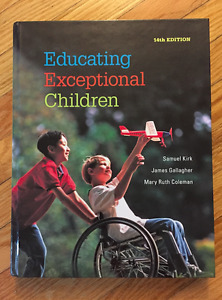 PSYCH 2043 - Educating Exceptional Children Textbook