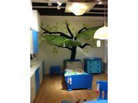 Green Leaf For children Room