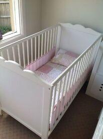 Ikea Hensvik Toddler Bed and Mattress