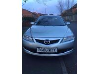 MAZDA 6 TS2 AUTOMATIC EXCELLENT WITH LEATHER SEATS AND INTERIOR & LONG MOT TILL AUGUST 2017 FOR SALE