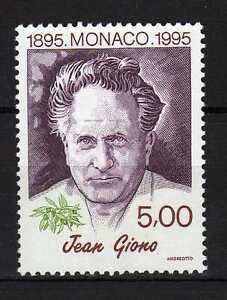 Monaco-1995-Jean-Giono-Neuf-MNH