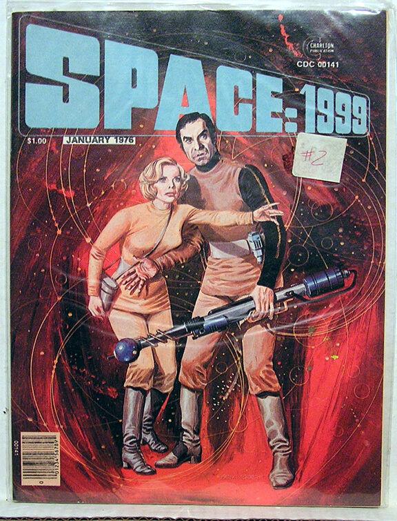 1976 SPACE:1999 Magazine #2- Comics/Photos/Articles (L-2561)