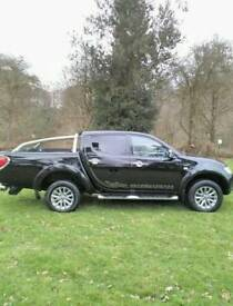 2011 Mitsubishi L200 2.5 DI-D CR Barbarian Manual Black 48K Miles