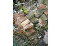 Bricks and stones - for rockery?