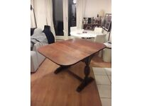 Drop Leaf wooden dining table