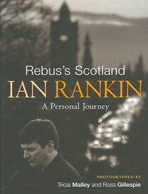 New Hardback Book Rebus's Scotland Ian Rankin A Personal Journey Christmas Gift