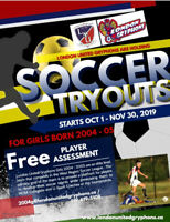 COMPETITIVE SOCCER PLAYER OPPORTUNITY