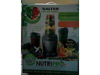 Salter Nutri Pro 1000 Electric Blender Juicer, Liquidiser Smoothie Maker (Black)