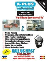 Better Business Bureau A+ Rated Office Movers 1-888-272-6621