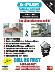 Licenced Office Movers 519-886-1570 Cambridge Kitchener Area image 1