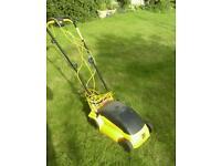 Jcb electric lawnmower