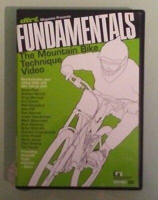 dirt magazine  FUNDAMENTALS THE MOUNTAIN BIKE TECHNIQUE VIDEO  DVD