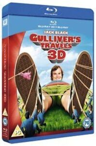 Gulliver's Travels Blu Ray & 3D Blu-ray (2012) NEW & SEALED - FAST UK DISPATCH !