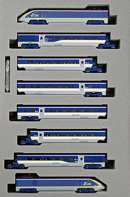 Kato 10-1297 EUROSTAR New Color e300  8 Cars Set (N scale)