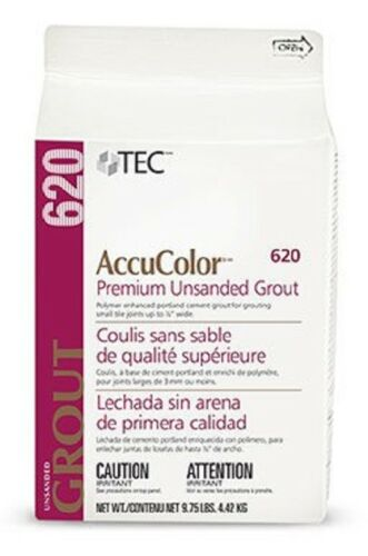 Tec AccuColor Premium Unsanded Grout 9.75 lb (Various Colors) - FREE SHIPPING