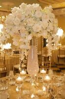 """40"""" tall vase floor vase wedding centrepiece $45 each"""