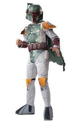 Children's Boba Fett Costume (Child Star Wars Boba Fett Costume Boy S M L Kids Dress Up)