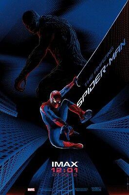 Amazing Spiderman 2012 Midnight Imax Exclusive Original Mini Movie Poster