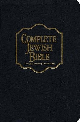 Complete Messianic Jewish Holy Bible Black Bonded Leather David H Stern New