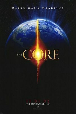 The Core Movie Poster 27x40 D/S Hilary Swank  Aaron Eckhart Delroy Lindo   Tucci Core Movie Poster