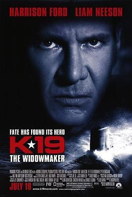 K19 The Widowmaker 27x40 D/s Original Movie Poster One Sheet Harrison Ford 2002