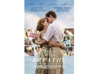 Breathe PREMIERE Andrew Garfield * Claire Foy * Soldout Opening Night Gala LONDON FILM FESTIVAL £49