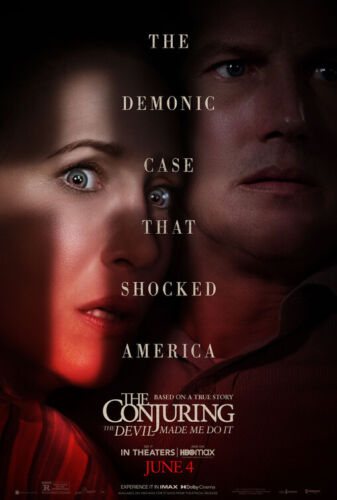 Conjuring 3: Devil Made Me Do It (2021) D/S Orig Movie Poster 27x40 😈Horror NEW