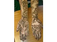 Henna for Weddings and party
