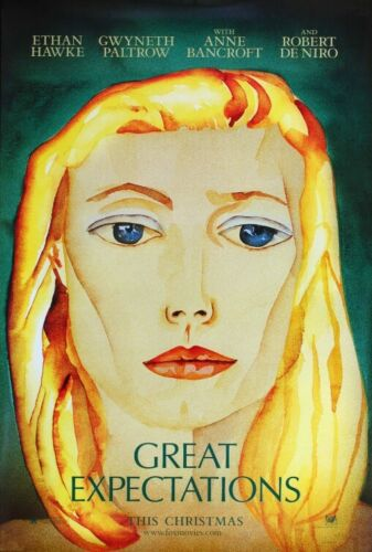 """GREAT EXPECTATIONS TEASER ORIGINAL MOVIE POSTER 27"""" x 40"""" HAWKE-PALTROW P100720"""