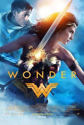 Wonder Woman Original 27 X 40 Theatrical Movie Poster