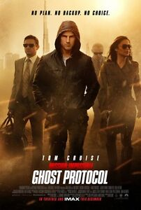 MISSION IMPOSSIBLE GHOST PROTOCOL 11x17 MOVIE POSTER