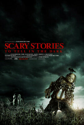 Scary Stories to Tell in the Dark film poster photograph - glossy A4 print