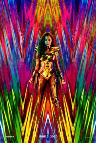 Wonder Woman 1984 Double-Sided Theatrical Teaser 27x40 Gal Gadot Patty Jenkins - $10.00